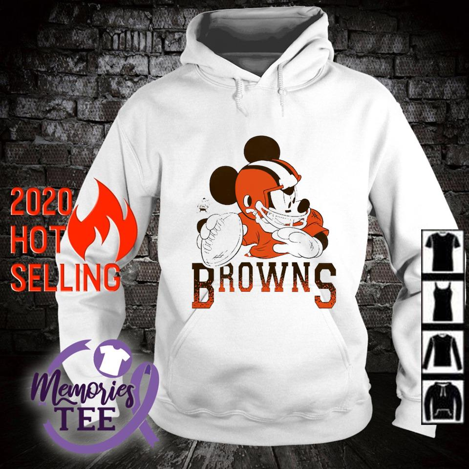 Disney Mickey Cleveland Browns s hoodie