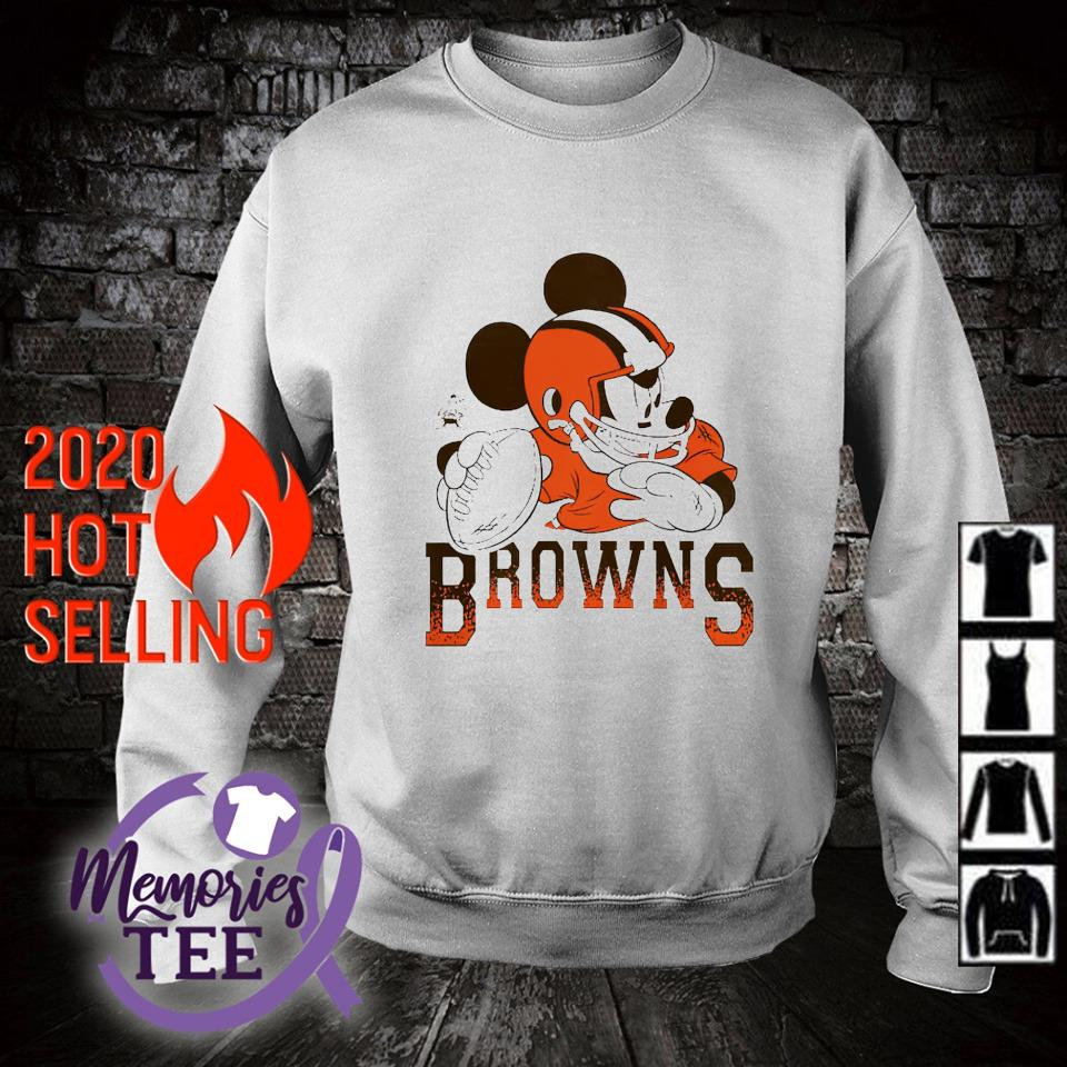 Disney Mickey Cleveland Browns s sweater