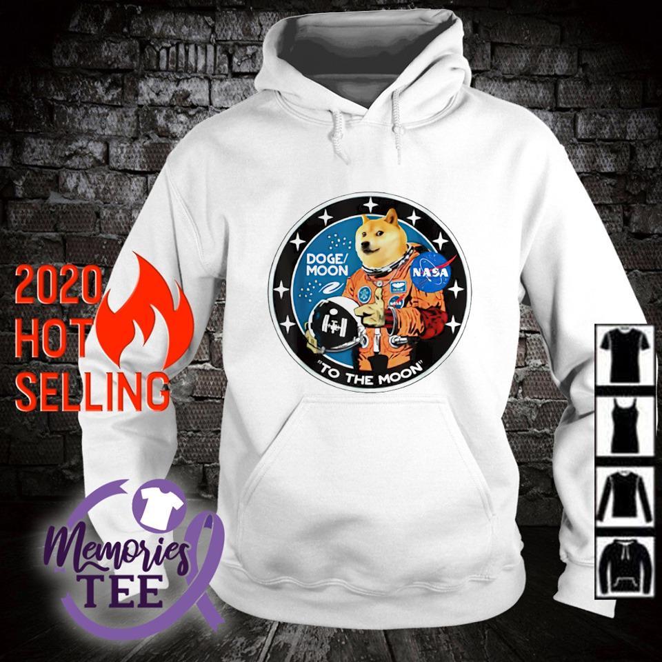 Doge Astronaut To the Moon dogemoon s hoodie