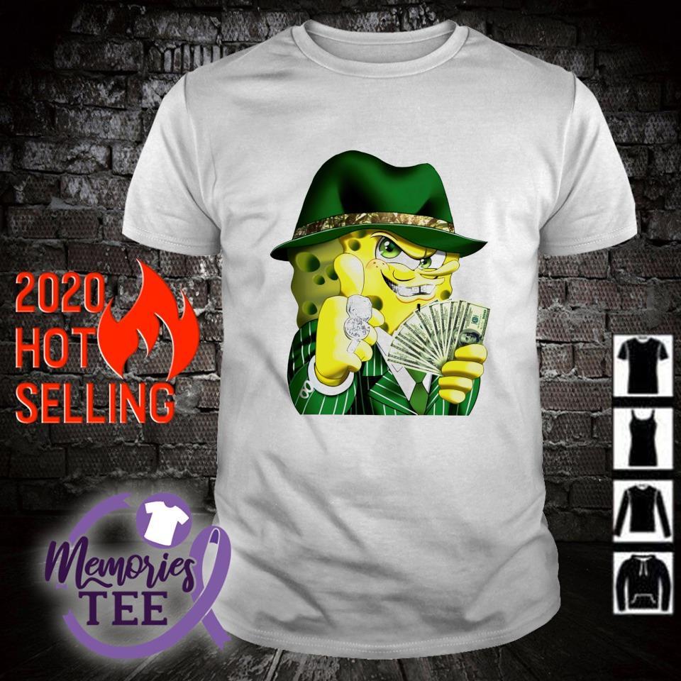 Gangster spongebob shirt