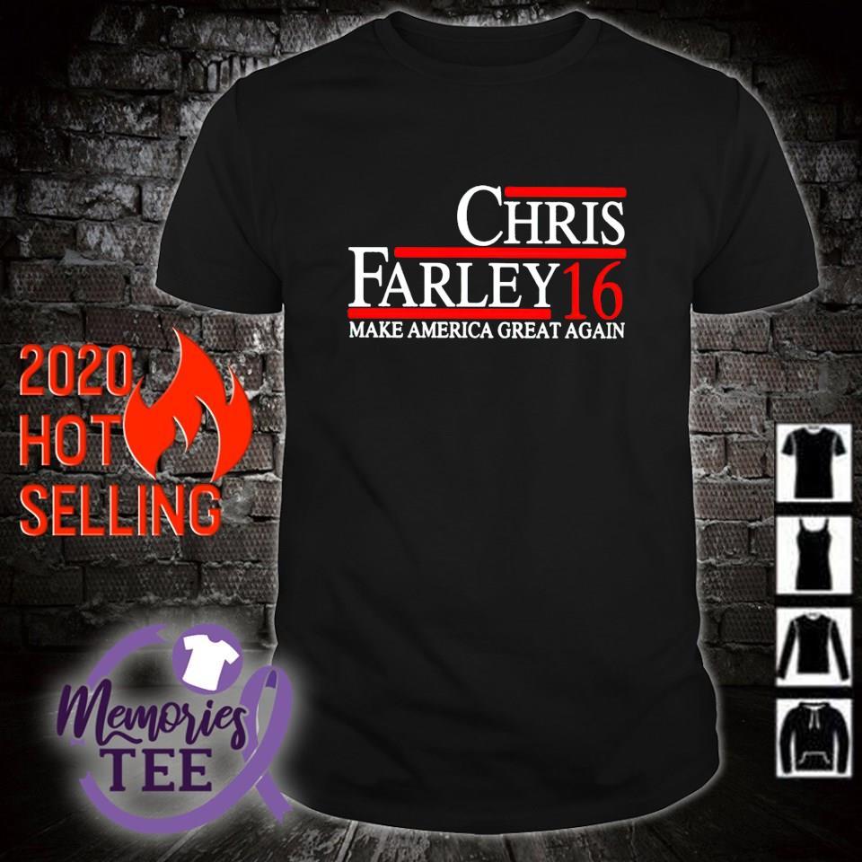 Make America great again Chris Farley 16 shirt