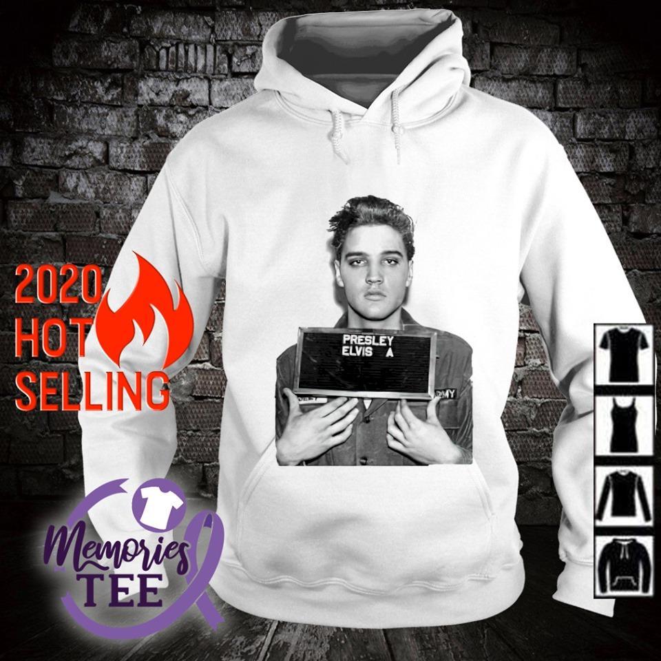 Presley Elvis mugshot s hoodie
