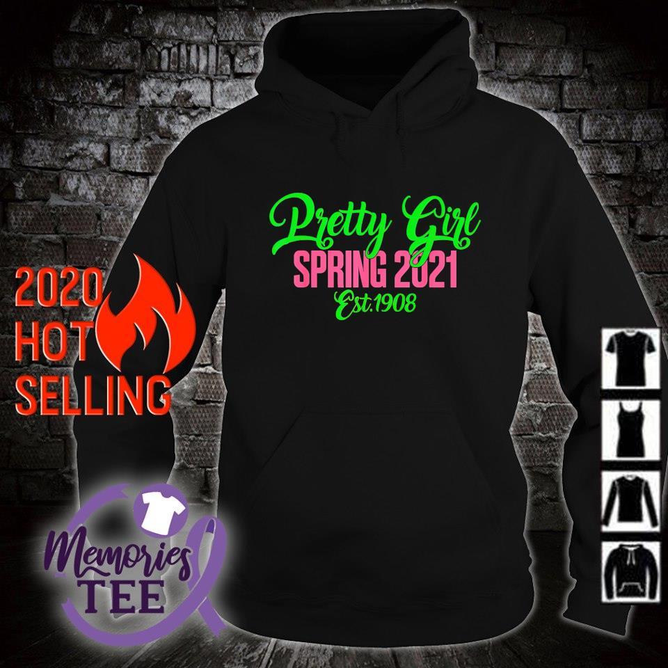 Pretty girl spring 2021 est 1908 s hoodie