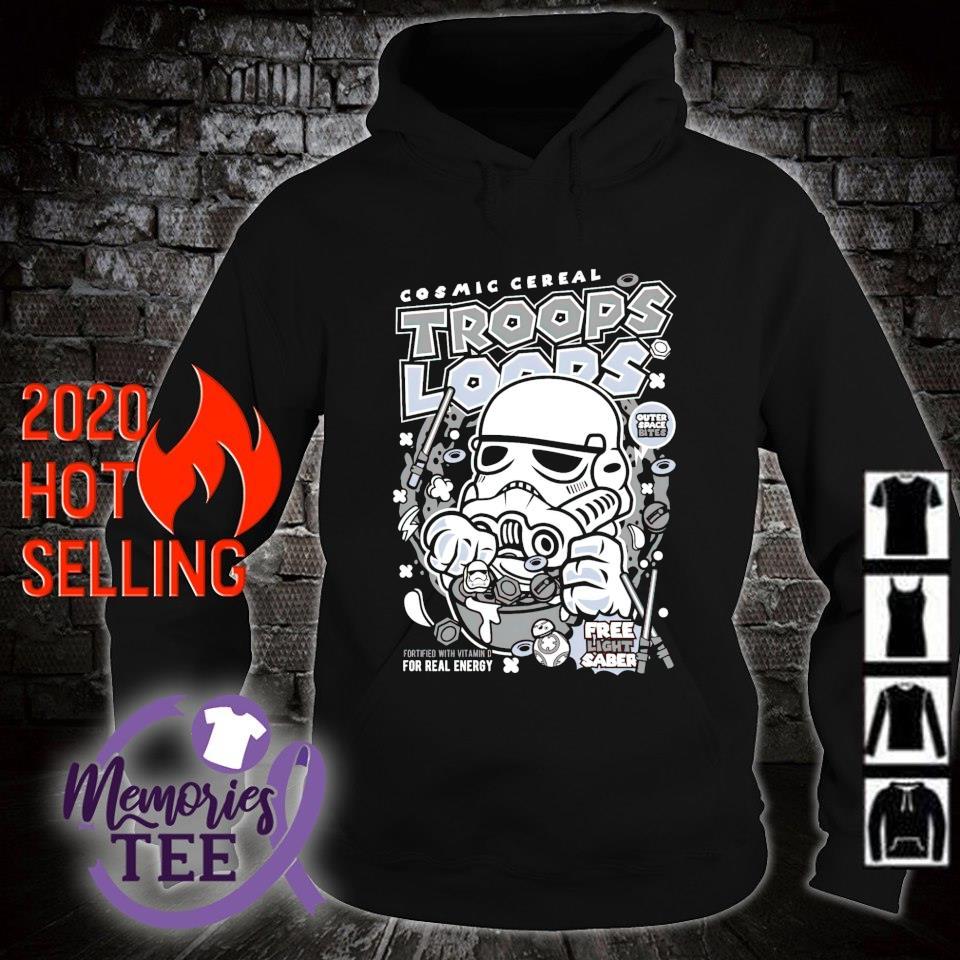 Stormtrooper Cosmic cereal Trooper Loops Shirt hoodie