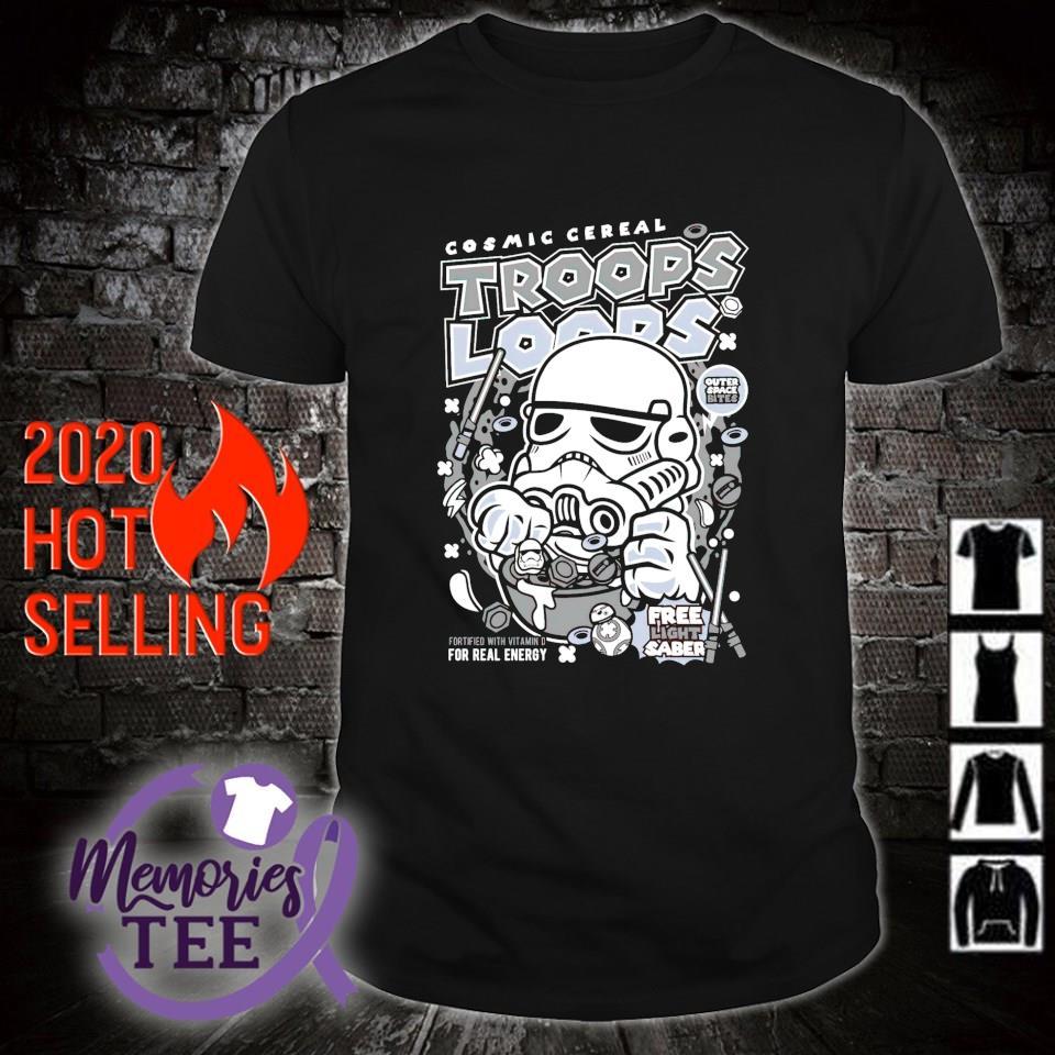 Stormtrooper Cosmic cereal Trooper Loops Shirt