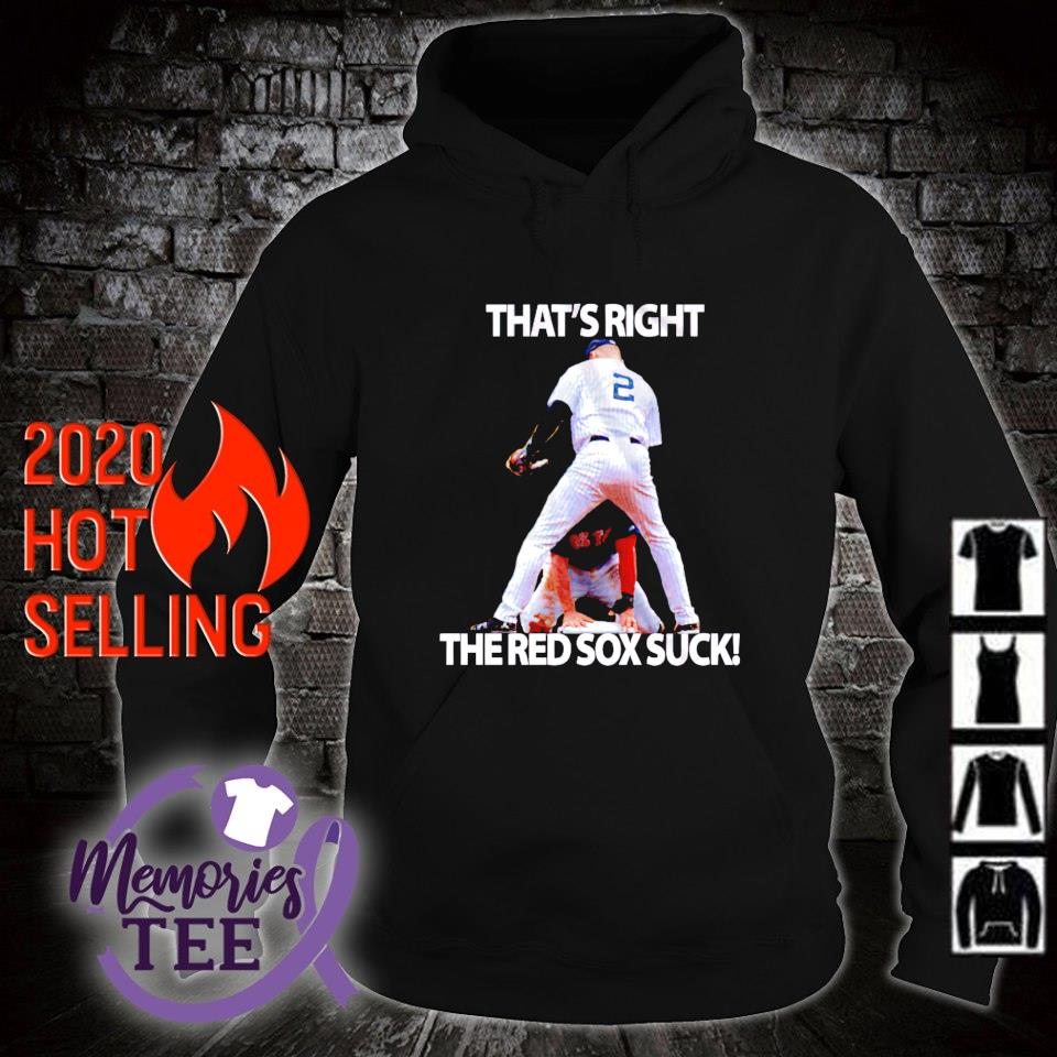 That's right the Red Sox suck s hoodie