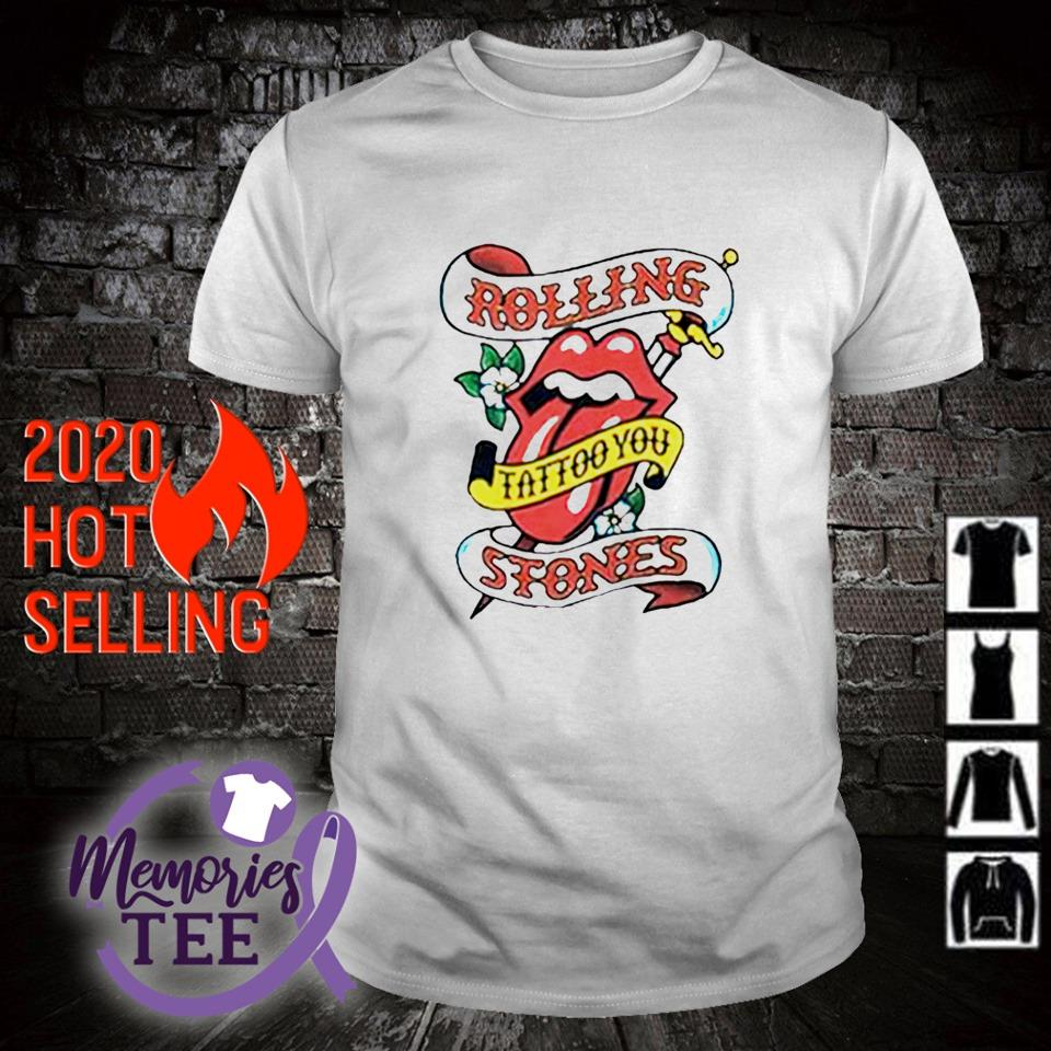The Rolling Stones tattoo you shirt