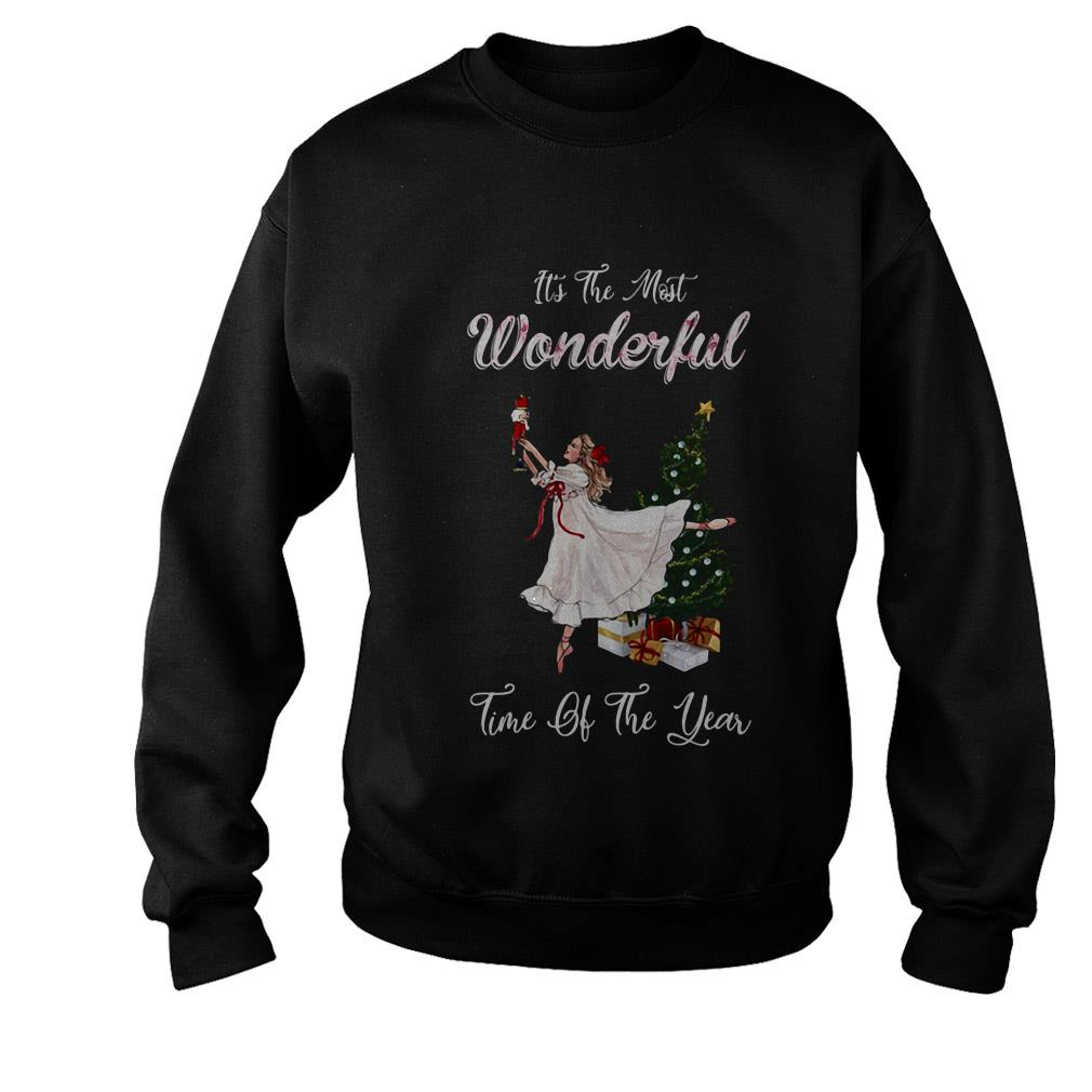Ballet dancing It's the most wondeful time of the year Christmas sweater