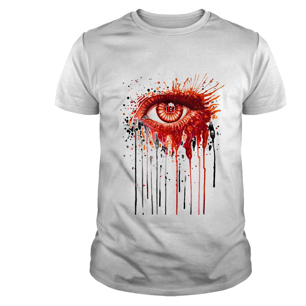 Cincinnati Bengals eyes art shirt