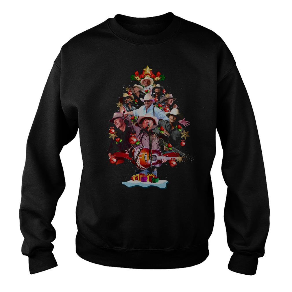 Alan Jackson Christmas tree sweater