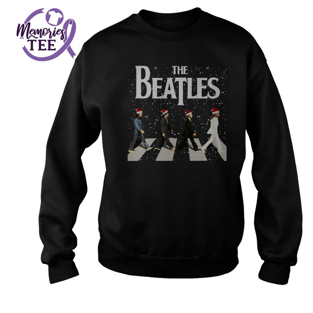 The Beatles Christmas ugly sweater