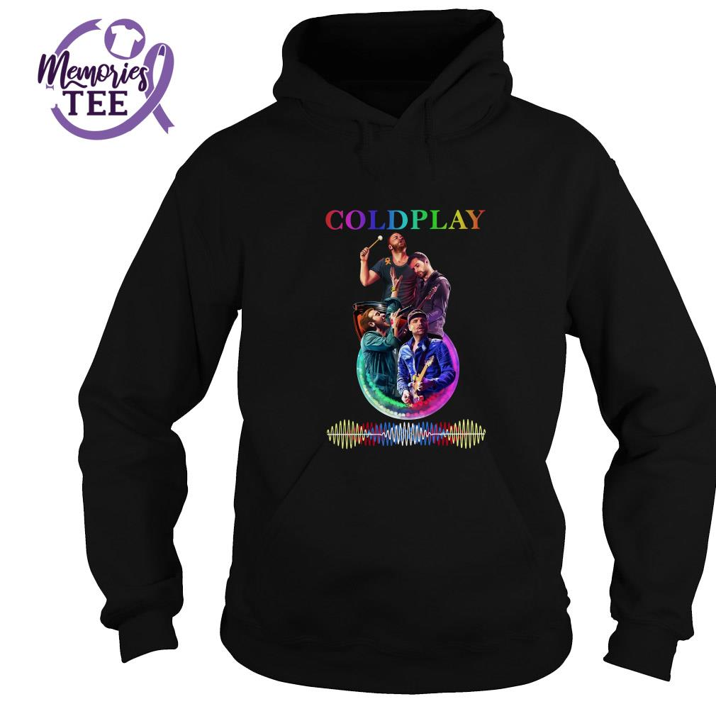 Coldplay team music signature Hoodie