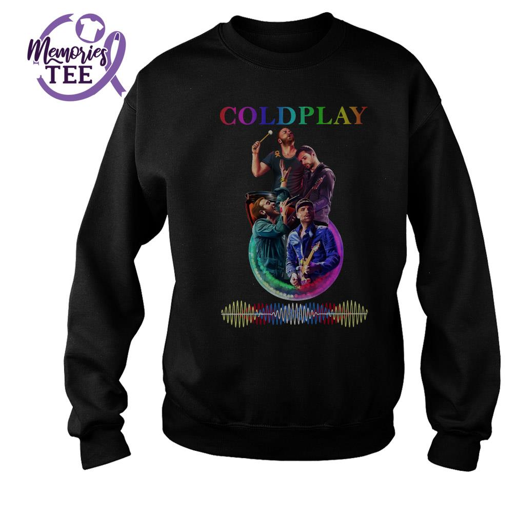 Coldplay team music signature Sweater