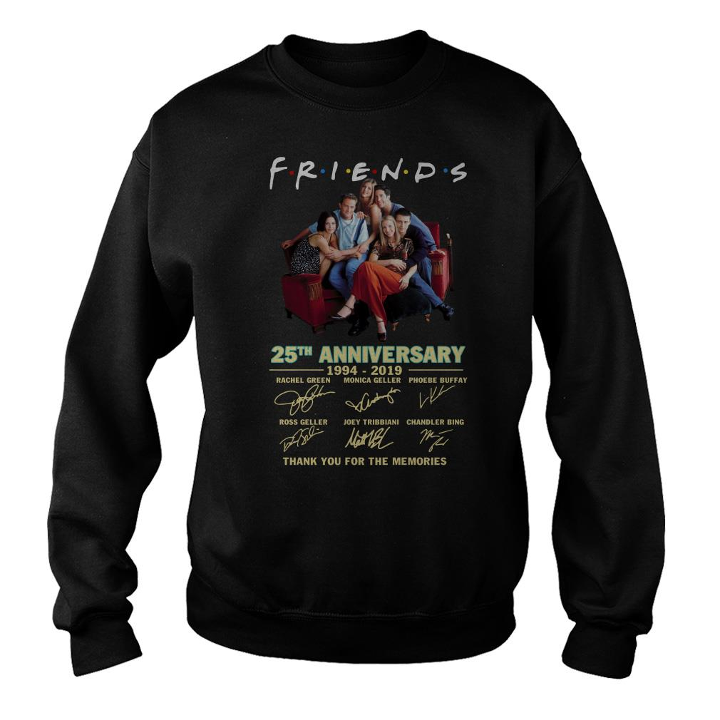 Friends TV show 25th anniversary thank you for the memories Sweater