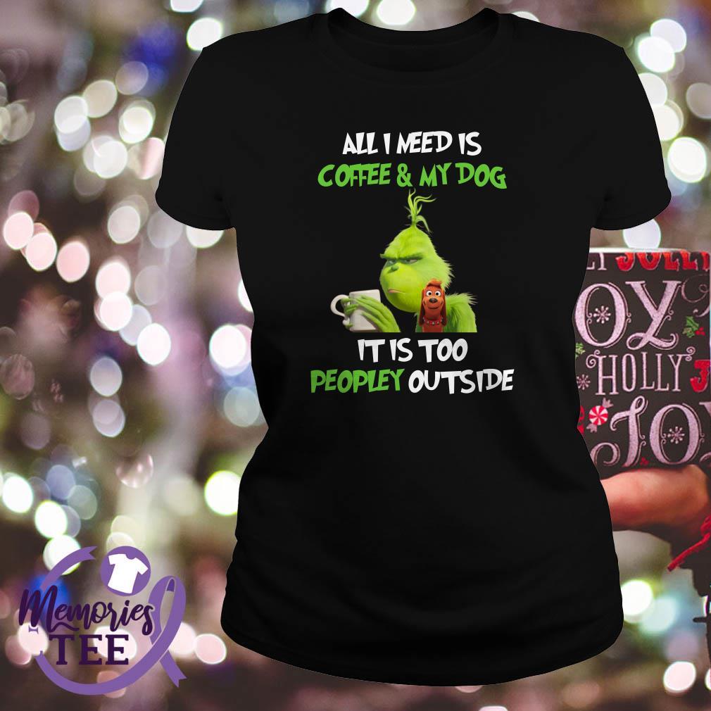 I Need COFFEE Ladies V Neck tee t shirt