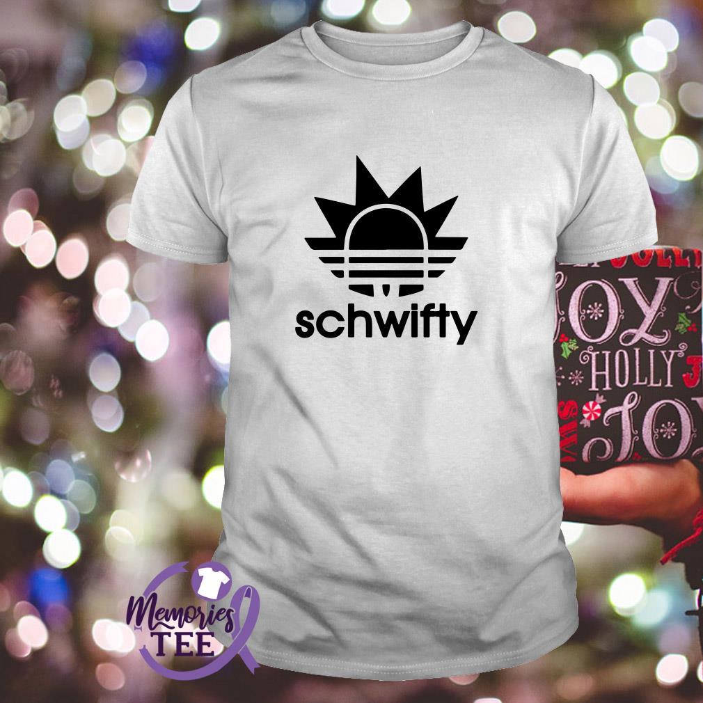Rick Adidas Schwifty shirt