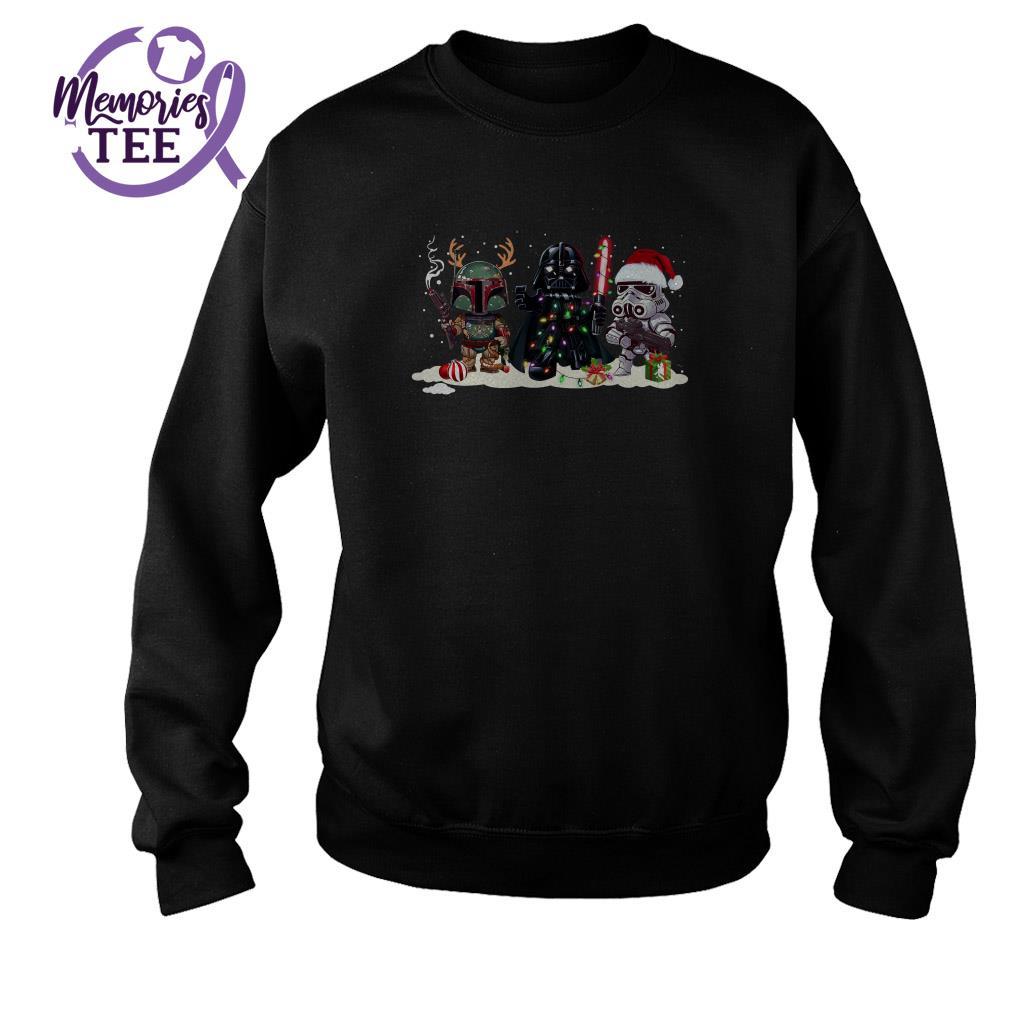 Star Wars Darth Vader Christmas ugly sweater