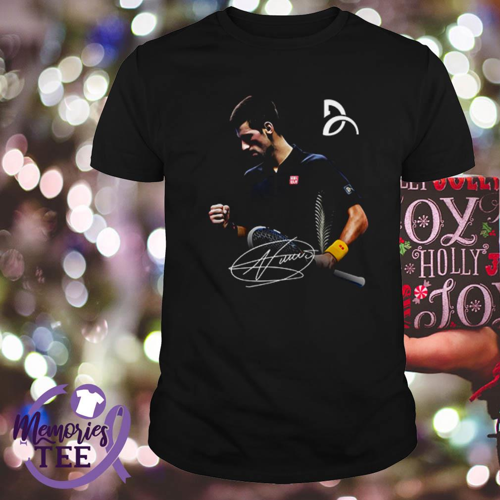 Novak Djokovic Legend Player Signature Shirt Hoodie And V Neck T Shirt