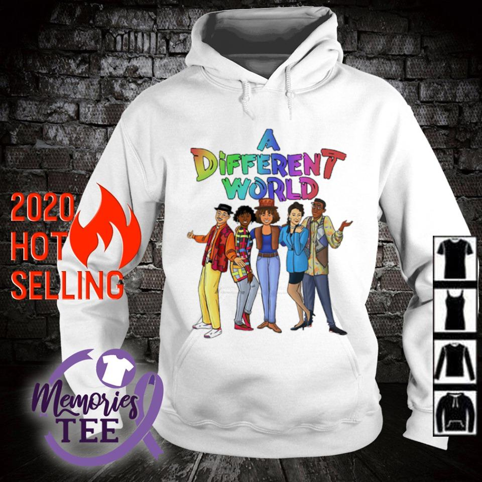 A different World characters s hoodie