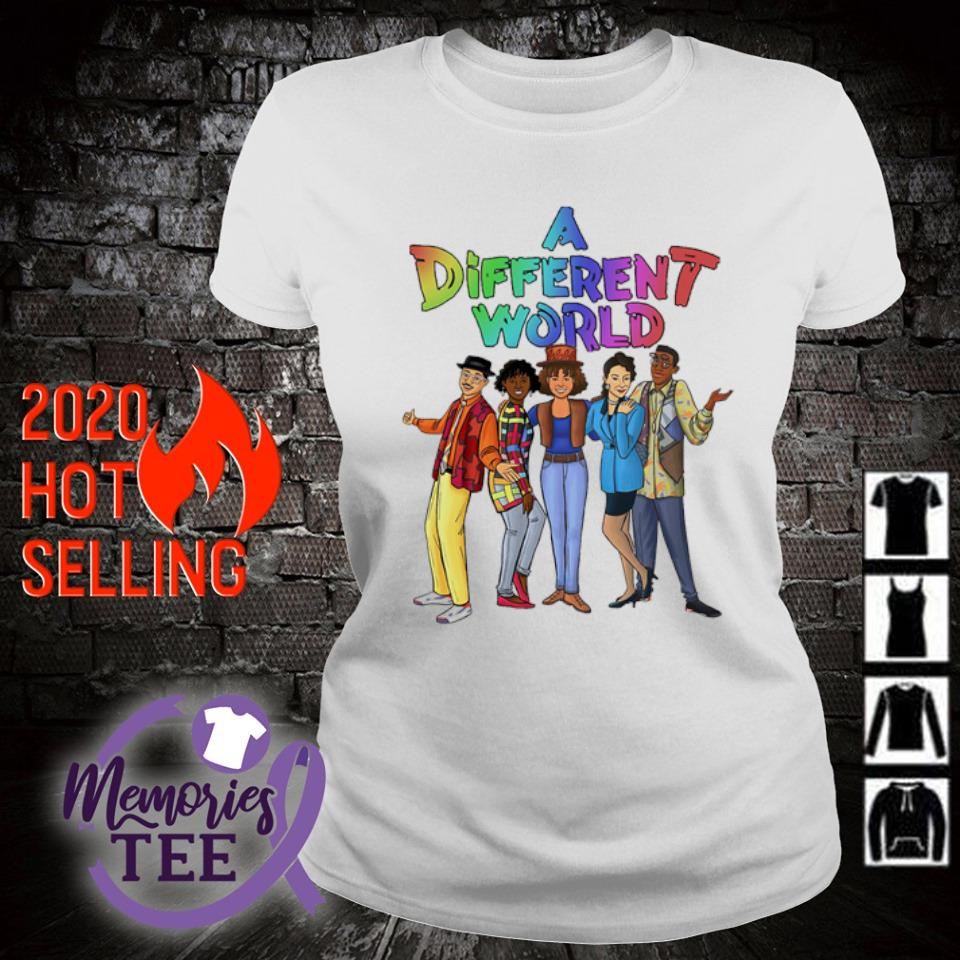 A different World characters s ladies-tee