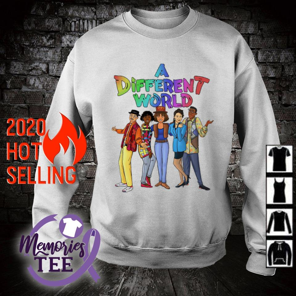 A different World characters s sweater