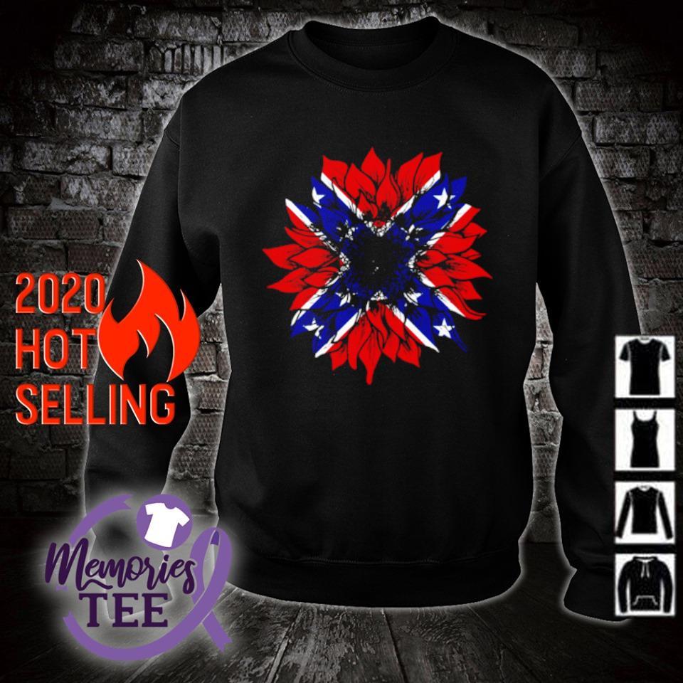 American flag Redneck Sunflower s sweater
