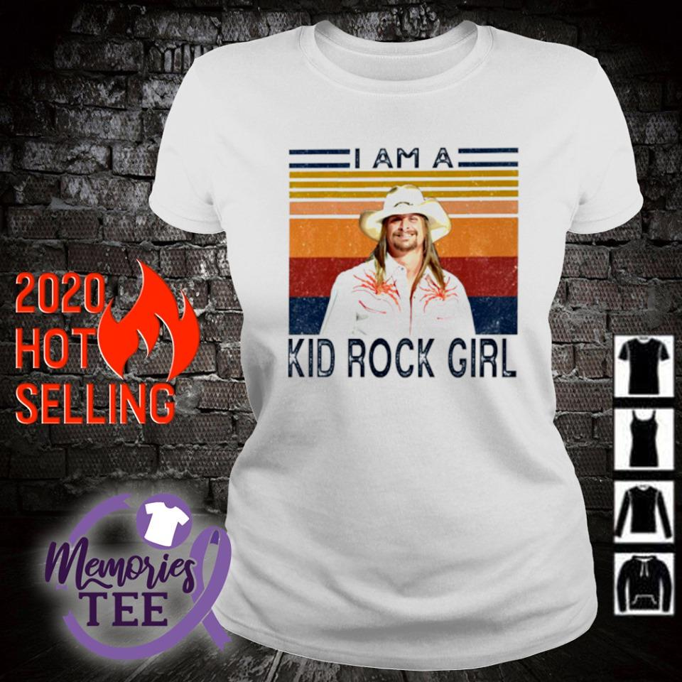 I am a Kid Rock girl vintage s ladies-tee