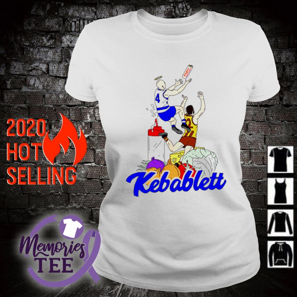 The Carlton Draft Jnr Kebablett s ladies-tee