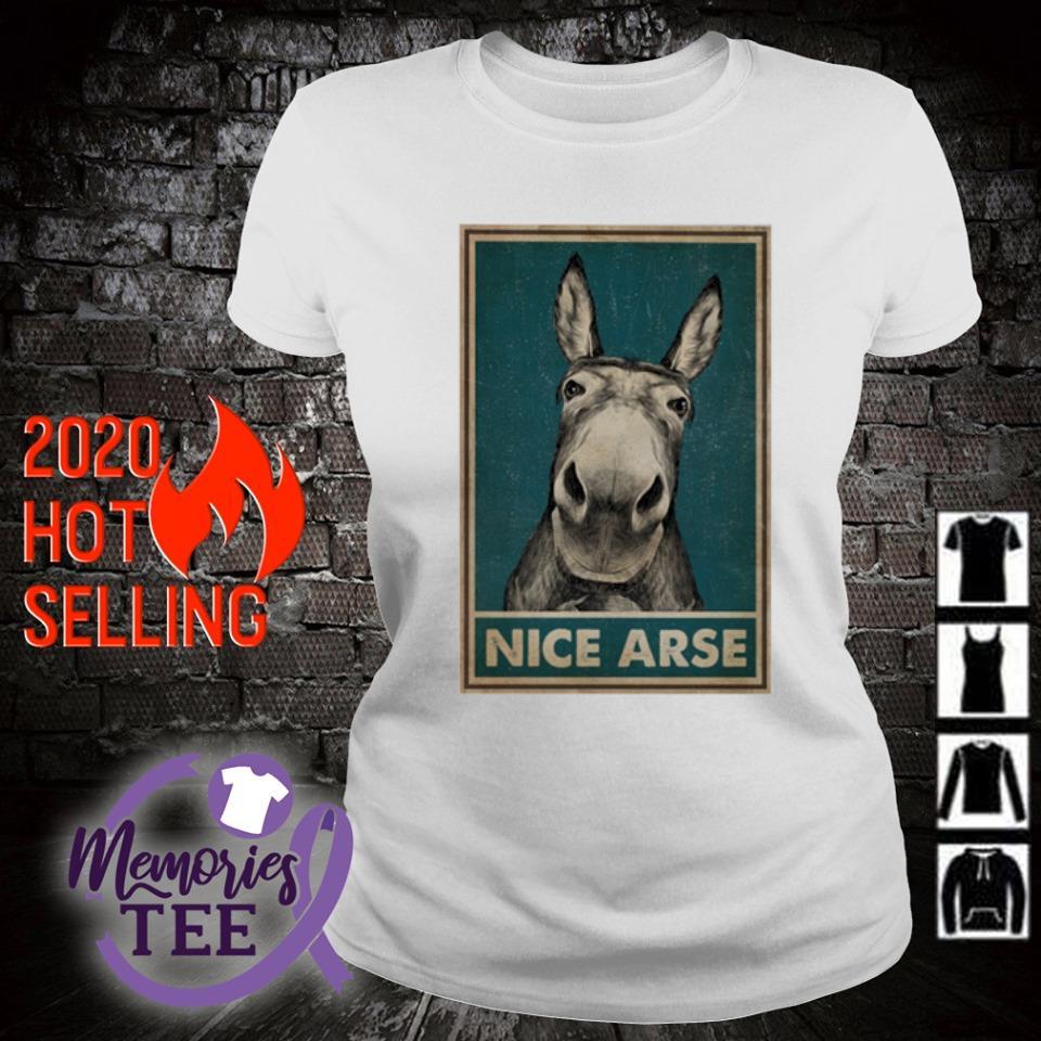 Donkey Nice Arse s ladies-tee