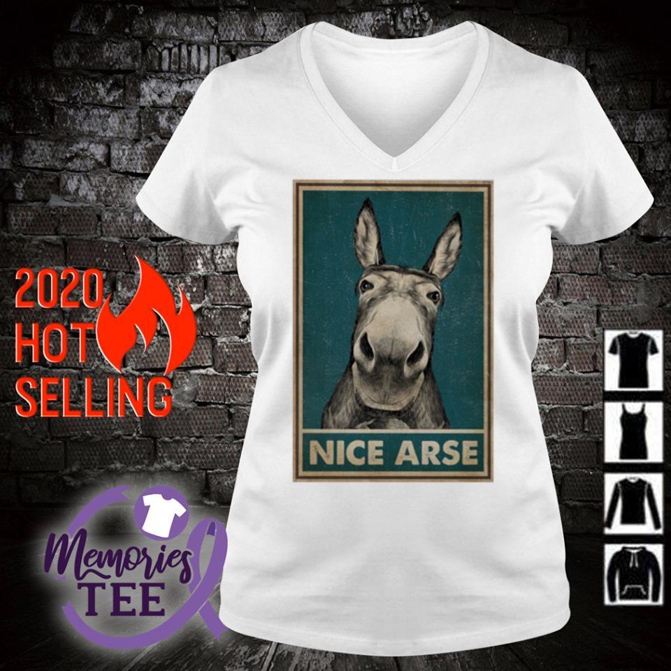 Donkey Nice Arse s v-neck t-shirt