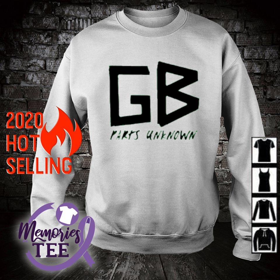 GB parts unknown s sweater