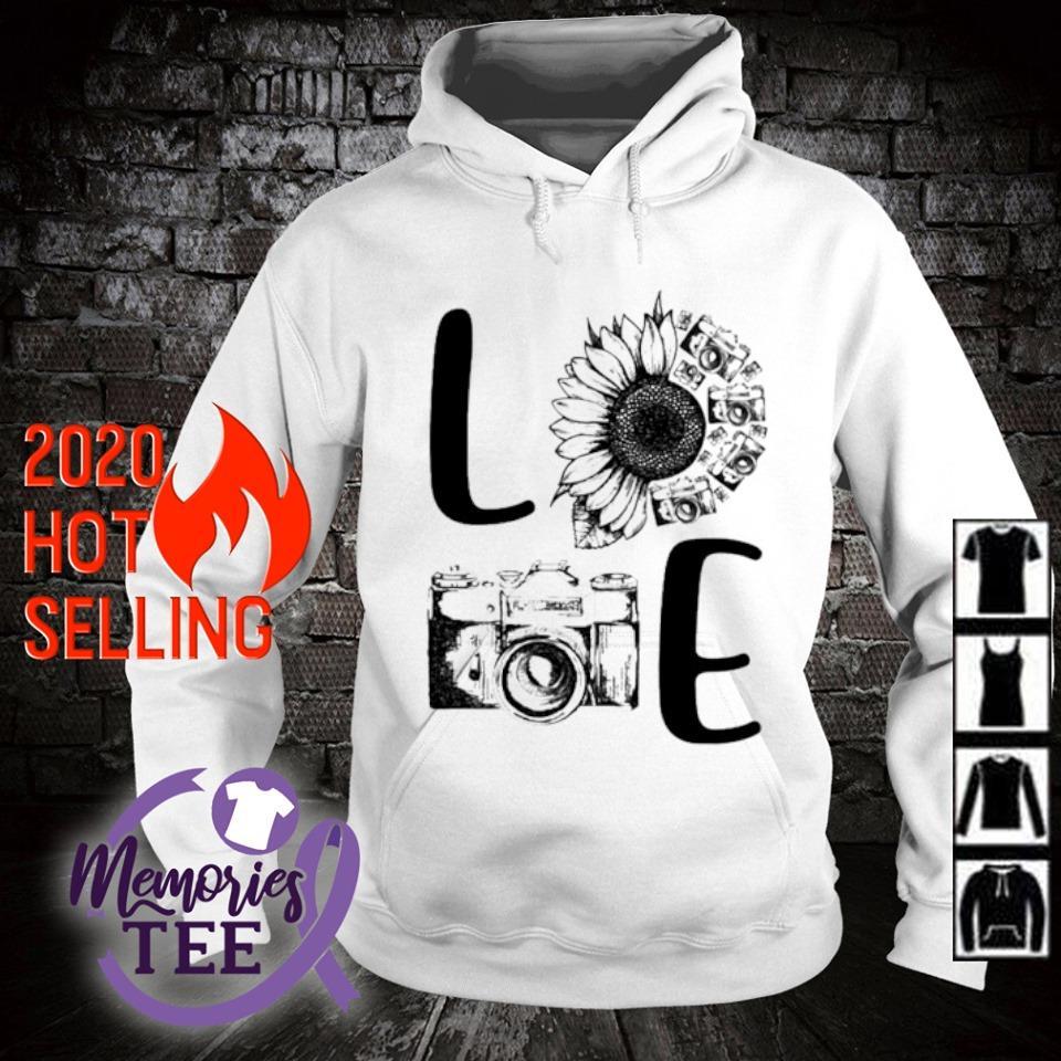 Sunflower Camera love s hoodie