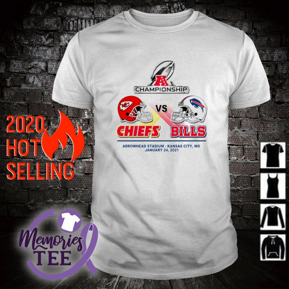 Championship Chiefs vs Bills arrowhead stadium January 24 shirt