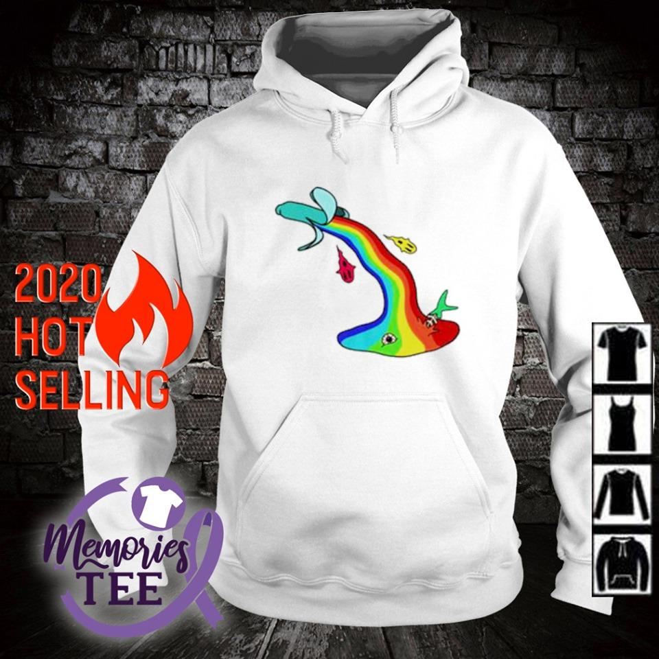 LGBT banana vomit s hoodie