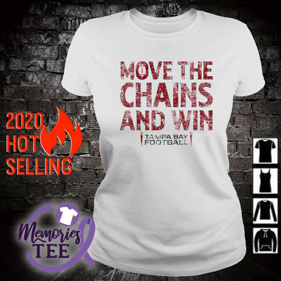 Move the chains and win Buccaneers s ladies-tee