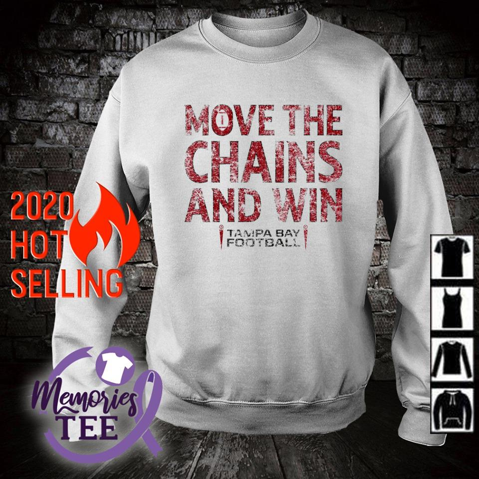 Move the chains and win Buccaneers s sweater