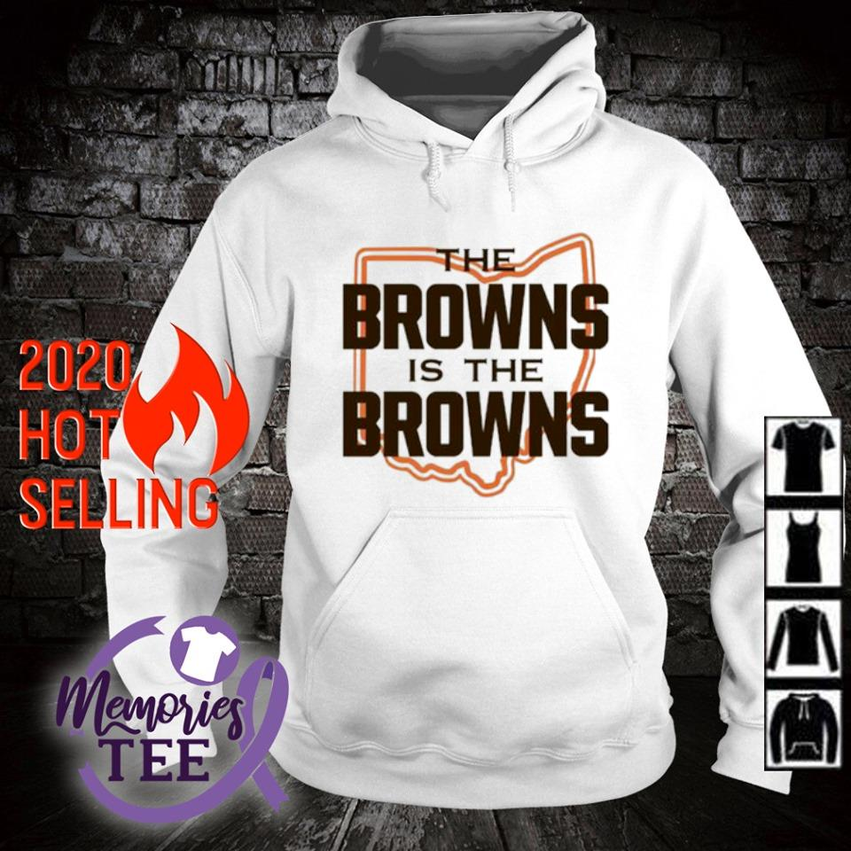 The Browns is The Browns AFC North division champions Cleveland Browns s hoodie