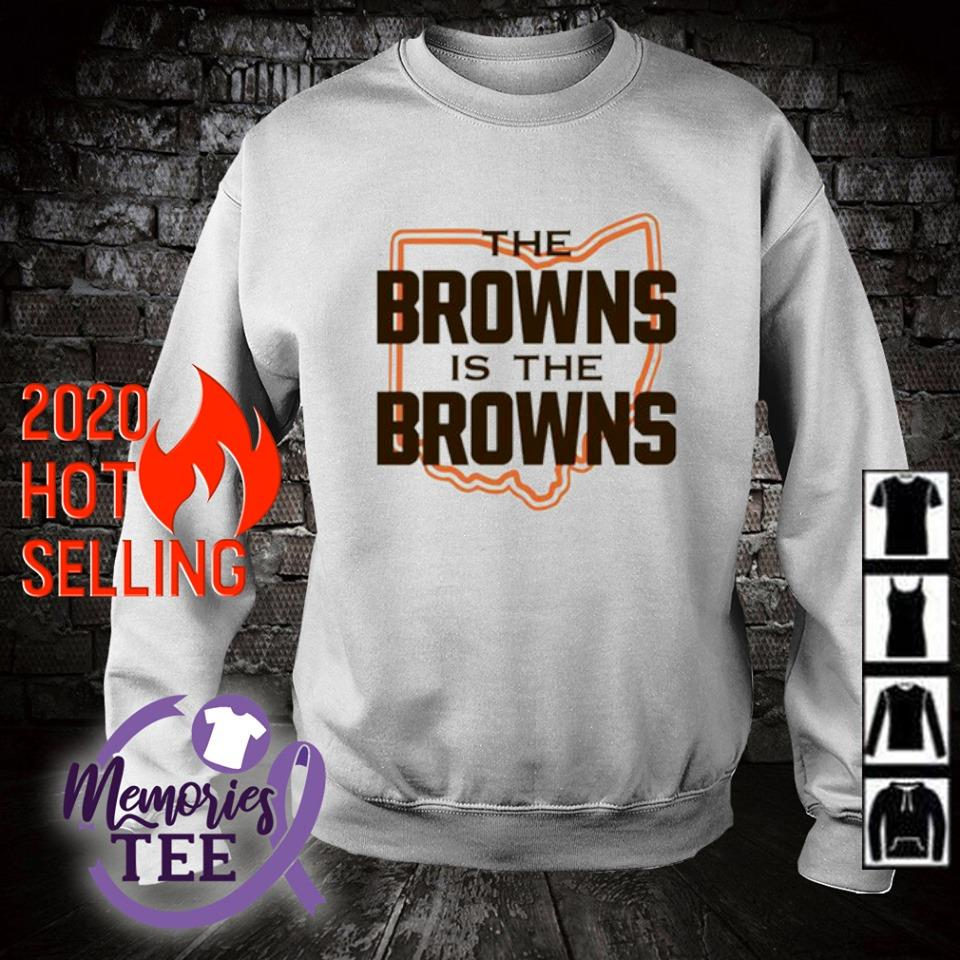 The Browns is The Browns AFC North division champions Cleveland Browns s sweater