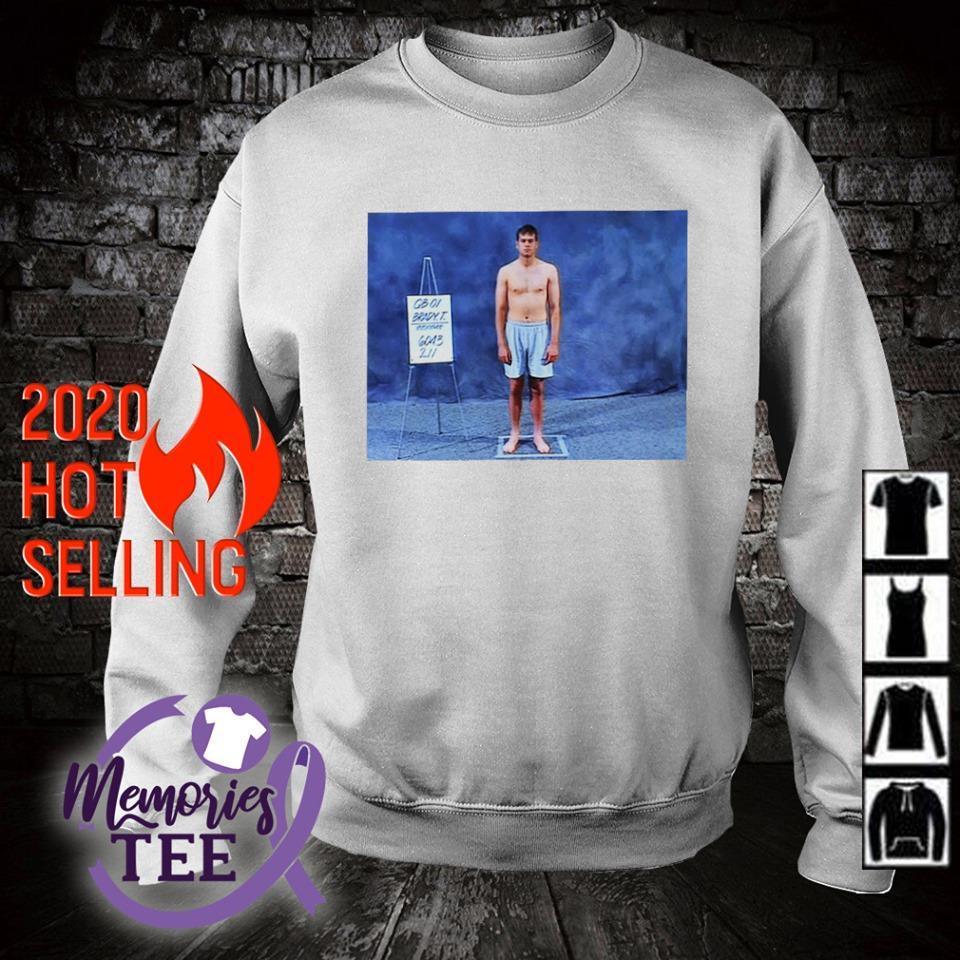 Ryan Jensen Put Tom Brady S Famous Combine Shirt Sweater Hoodie And Tank Top [ 960 x 960 Pixel ]
